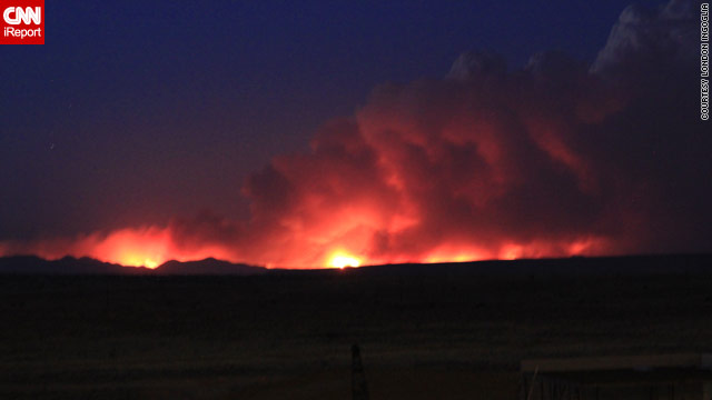 As New Mexico fire continues, residents allowed back