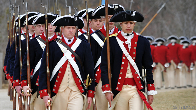 Poll: 1776 date puzzles some Americans