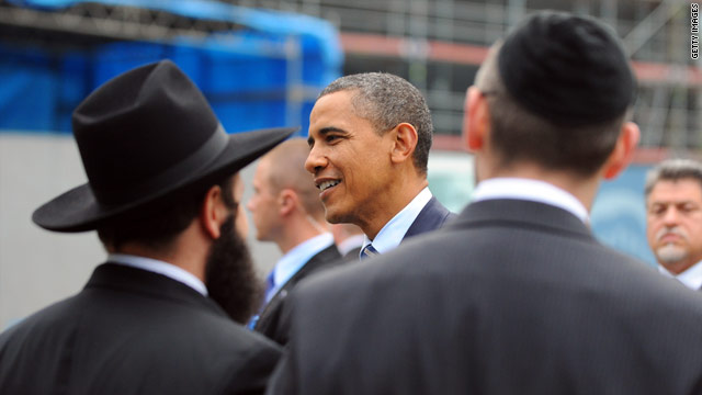 Has Obama lost the Jewish vote?