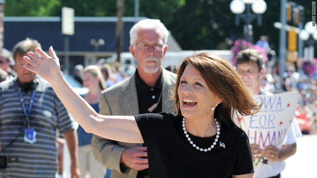 Bachmann campaign ad hits the airwaves