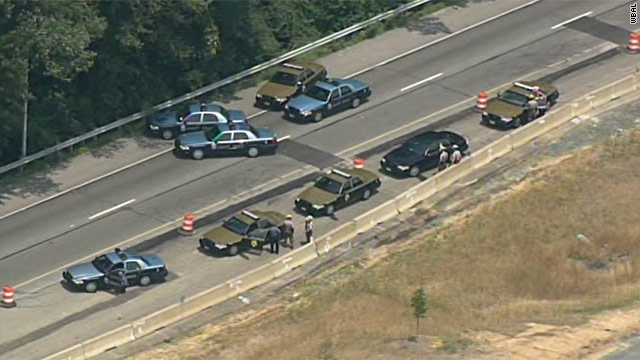 Maryland interstate closed after reports of gunman