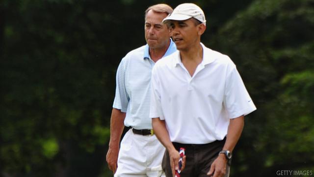 Official: Obama and Boehner met for deficit talks over the weekend