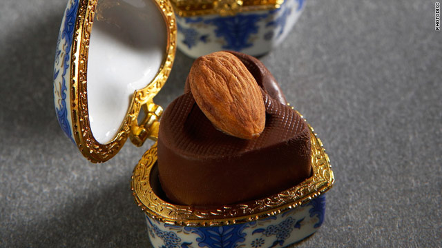 Breakfast buffet: National chocolate with almonds day