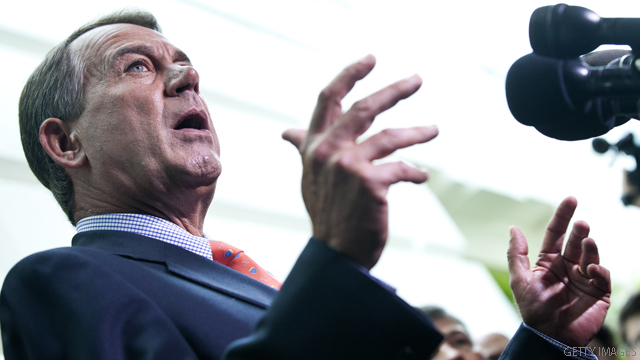 Boehner: &#039;50/50&#039; odds for possible deal