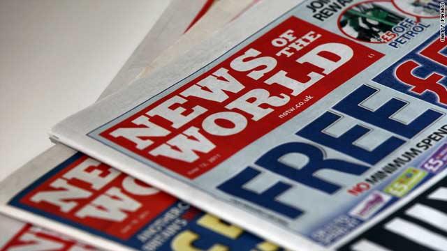 News of the World cerrará tras 168 años por un escándalo de espionaje