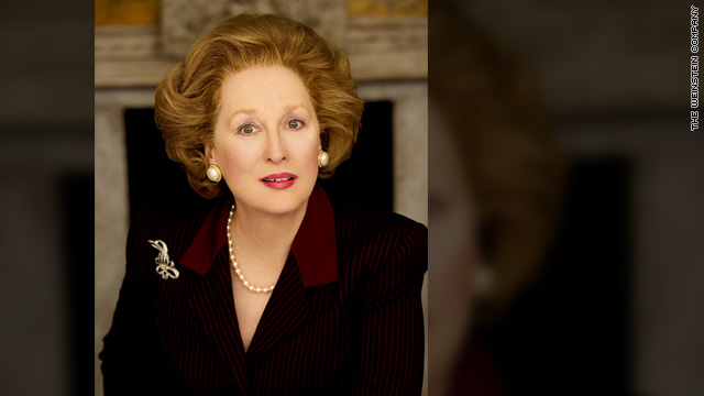 Streep as Margaret Thatcher in 'The Iron Lady'