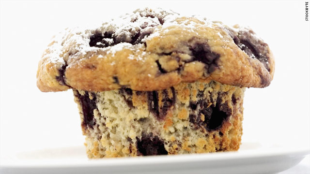Breakfast buffet: National blueberry muffin day