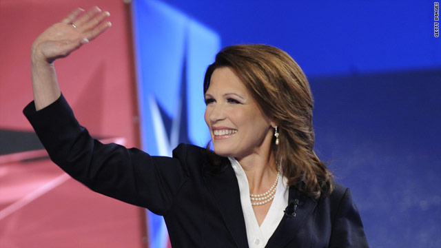 Bachmann responds to &#039;sex appeal&#039; remark