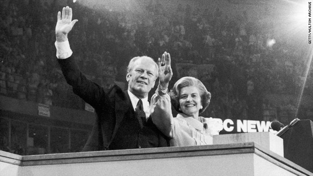 Former first lady Betty Ford dies at the age of 93