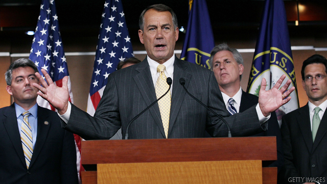 GOP ties job numbers to anti-tax stance in debt talks