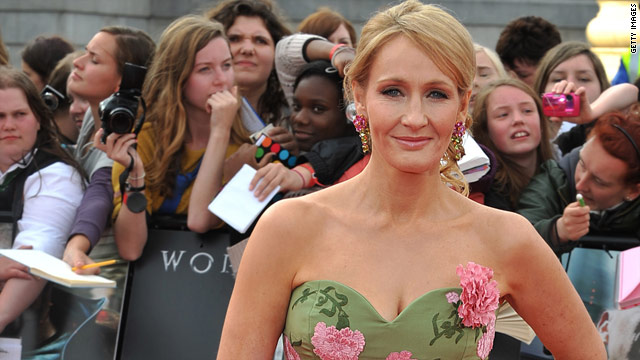 J.K. Rowling: 'Never say never' to more 'Potter'