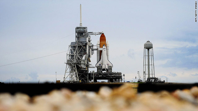 Rookie's first shuttle launch: Fighting traffic to see moment in history