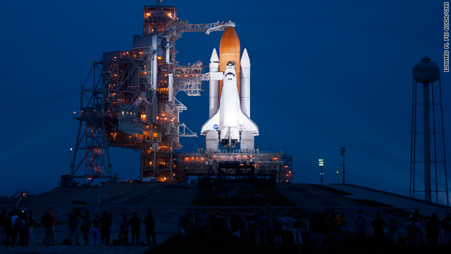 Live blog: Atlantis shuttle poised for final liftoff