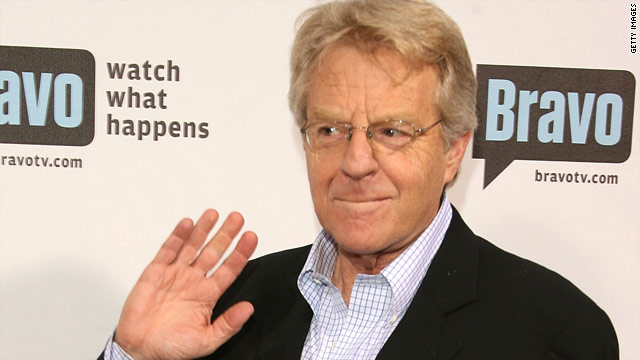 Jerry Springer denies offering Casey cash to be on his show
