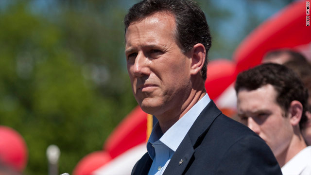 Santorum signs pro-marriage pledge promising personal fidelity
