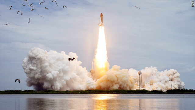 Final space shuttle mission lifts off