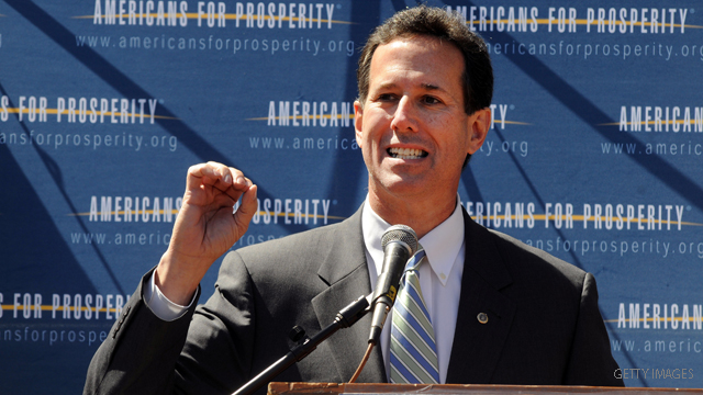 Santorum: My campaign is the 'little engine that could'