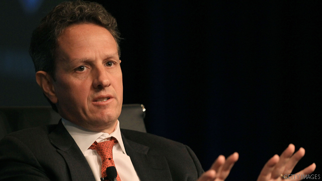 Geithner: We will 'prevail' over banks