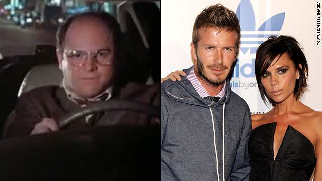 Did 'Seinfeld' help name baby Beckham?