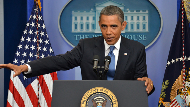 Live blog of Obama's news conference