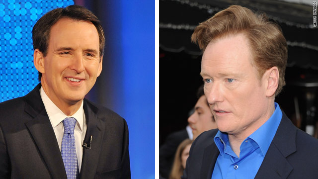 Pawlenty as the next Conan O&#039;Brien?