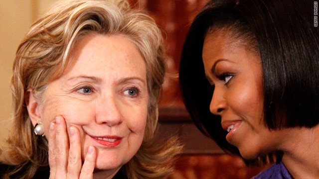 Michelle Obama, Hillary Clinton to attend service for Betty Ford
