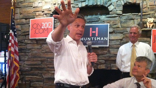 Huntsman goes on offense against Romney