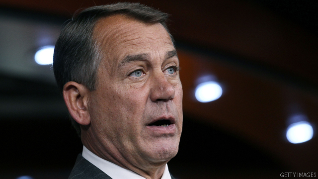 Boehner: Defiant on taxes