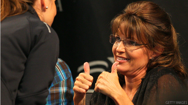 After confusion, Palin back on the program for Iowa rally