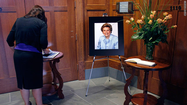 Need to Know News: Betty Ford service to be attended by past first ladies; GOP, Democrats to huddle once more cutting federal debts