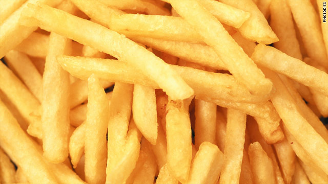Breakfast buffet: National French fries day
