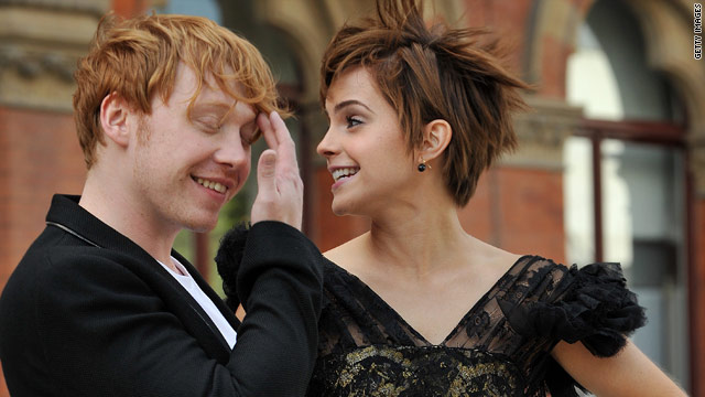 Rupert Grint on kissing co-star Emma Watson: Yuck