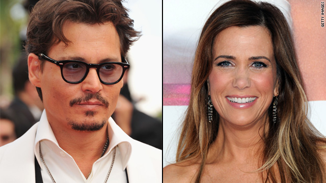Depp deals with Disney, Kristen Wiig gets animated