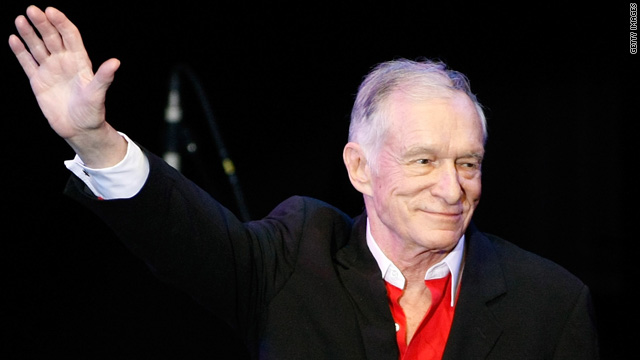 Hugh Hefner: I'm alive and kicking