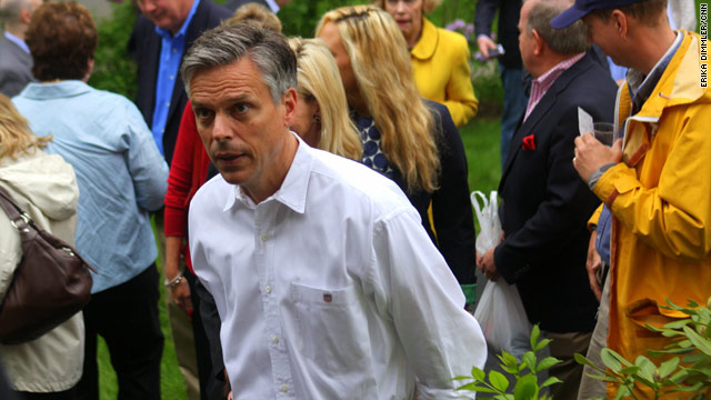 Huntsman campaign keeps up assault on Romney record