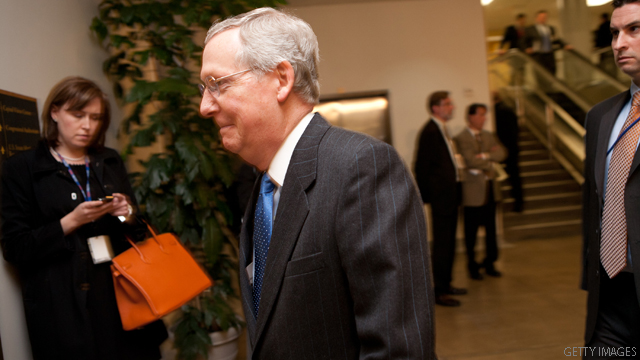 Senate Republicans offer compromise to debt ceiling impasse