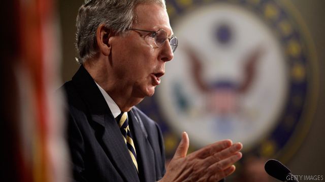 McConnell: GOP doesn't want government default