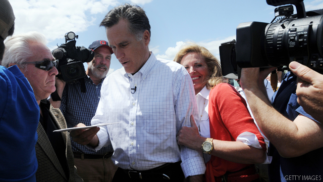 Romney doubles down over debt