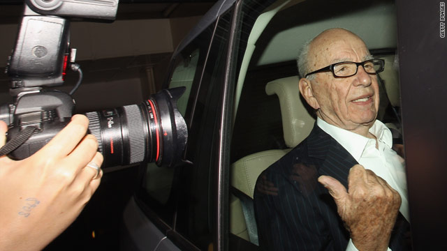 UK lawmakers want to question Murdoch over phone hacking