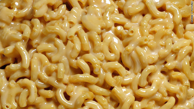 Breakfast buffet: National macaroni day