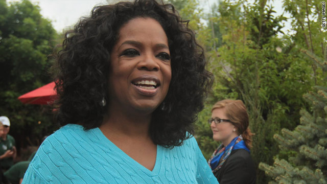 'Showbiz Tonight' flashpoint: Oprah hires herself