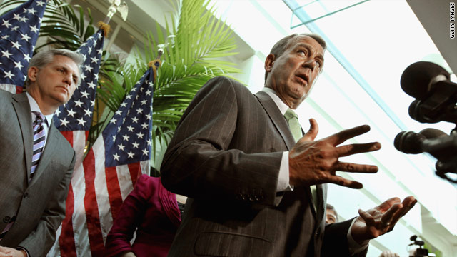 Speaker Boehner on debt talks: Like dealing with Jell-O