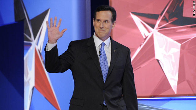 Santorum&#039;s Iowa pick up