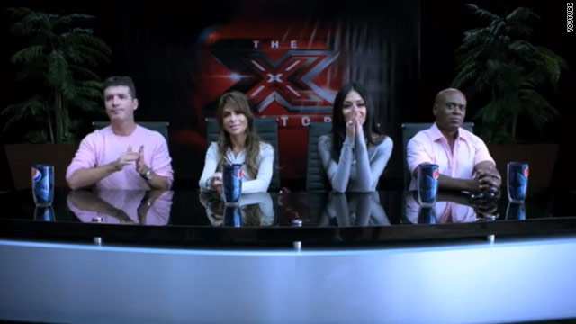 Is the new 'X Factor' promo poking fun at 'Idol?'