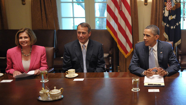 Speaker Boehner on debt talks: 'Like dealing with Jell-O'