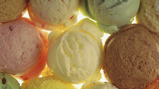 Breakfast buffet: National ice cream month