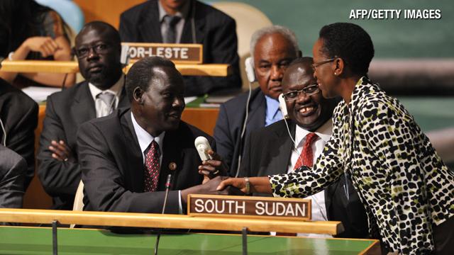 Sudán del Sur ya es miembro de la ONU