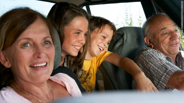 Kids safer with grandparents behind the wheel