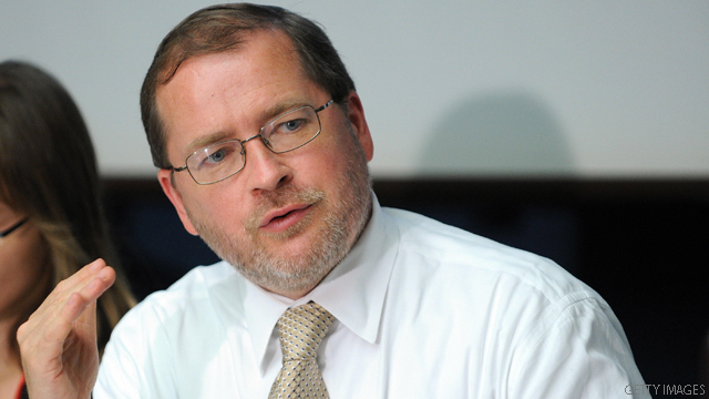 Grover Norquist: The man who drew the GOP's 'line in the sand'