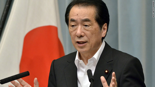 Japanese PM ready to abandon nuclear power; utility to inject gas into reactor